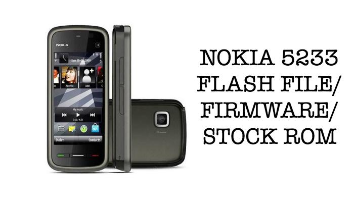 nokia-5233-firmware