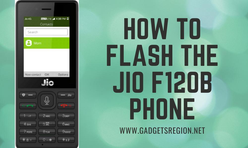 jio f120b flash file